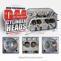Cylinder Heads 044 wedge port 42 x 37mm