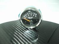 Oil Pressure Gauge 52mm chrome
