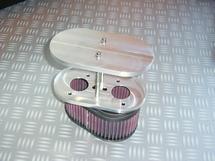 aircleanerset  GPP aluminium with K&N