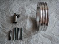 GPP Oil sump extension, aluminium type 1engine