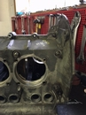 Bore engine case for larger cylinders CNC machining