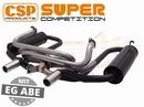 CSP Super competition uitlaat staal