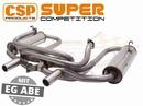 CSP Super competition uitlaat RVS