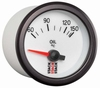 Stack Oil Temperature Gauge white