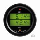 SPA Design Oil Pressure - Oil Temperature Dual Gauge